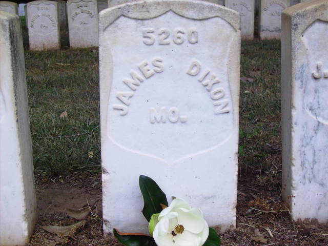 Gravestone for James Dixon