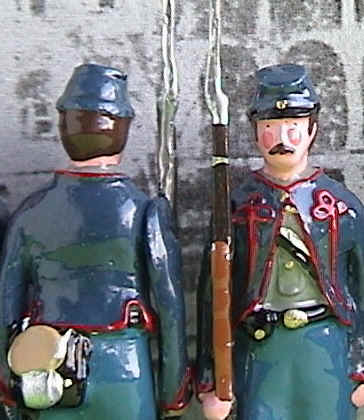 Toy Soldiers Close Up