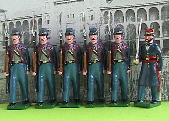 8th MO toy soldiers